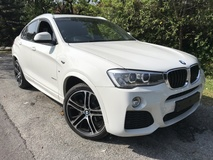 2015 BMW X4 X DRIVE M SPORT FULL SPEC SOUND SYSTEM UNREG