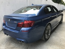 2013 BMW M5 4.4 TWIN TURBO 560 HP UK NEW UNREG FULL SPEC