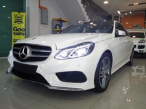 2014 MERCEDES-BENZ E-CLASS E200 2.0 AMG PROOF GST. OTR  ( Unreg )