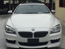2013 BMW 6 SERIES 640i Coupe 3.0 MSPORT NFL (UNREG)