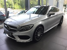 2017 MERCEDES-BENZ C-CLASS C300 AMG Coupe
