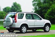 2002 HONDA CR-V Family car