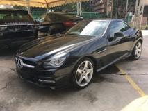 2013 MERCEDES-BENZ SLK Unreg Mercedes Benz SLK250 AMG convertible top GST INCLUDES