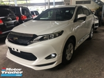 2015 TOYOTA HARRIER Unreg Toyota Harrier 2.0 360 view 4 camera Bodykit PowerBoot 7G