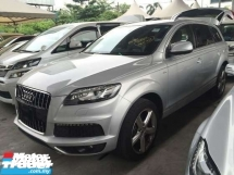 2014 AUDI Q7 3.0 TDI S LINE QUATTRO FACELIFT 0 SST.TRUE YEAR CAN PROVE 14 UNREG.HI SPEC.LED.FREE GIFTS N WARRANTY