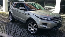 2013 LAND ROVER EVOQUE 2.0t