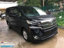 2016 TOYOTA VELLFIRE 2.5 0 SST.3 POWER DRS N BOOT. 360 SURROUND CAMERA.TRUE YEAR N CAN PROVE 16 UNREGISTER.POWER BOOT