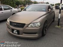 2008 TOYOTA MARK X V6 250G