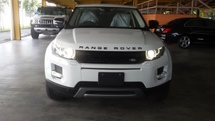 2013 LAND ROVER EVOQUE 228 k. nett price