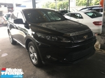 2014 TOYOTA HARRIER 2.0 360View Cam 7G Keyless Powerboot