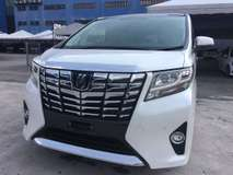 2017 TOYOTA VELLFIRE alphard 2.5 mpv king many year end sales