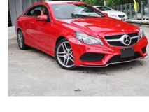 2014 MERCEDES-BENZ E-CLASS  KERETA MURAH STOCK CLEARANCE  COUPE