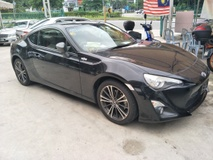 2012 TOYOTA FT-86 GT 86 2.0 BLACK EDITION
