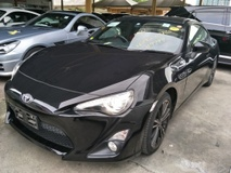 2014 TOYOTA FT-86 GT86 BLACK EDITION MANAUL