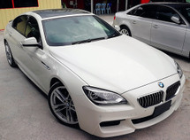 2013 BMW 6 SERIES  640i 3.0V6 MSPORT TWIN TURBO JAPAN SPEC