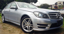 2013 MERCEDES-BENZ C-CLASS 2013 MERCEDES BENZ C180 1.8 CGI AMG UNREG JAPAN SPEC SELLING PRICE ( RM 129,000.00 NEGO) BODY COLOR - SKY SILVER ( 2156 )   ( ORIGINAL MILEAGE )
