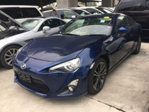 2015 TOYOTA FT-86 86 GT SPORT 2015 DARK BLUE JAPAN UNREG