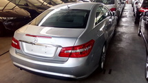 2013 MERCEDES-BENZ E-CLASS 1.8 COUPE AMG UNREGISTERED NO GST PRICE