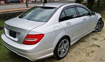 2013 MERCEDES-BENZ C-CLASS 2013 MERCEDES BENZ C180 1.8 CGI AMG UNREG JAPAN SPEC SELLING PRICE ( RM 125,000.00 NEGO) BODY COLOR