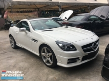 2015 MERCEDES-BENZ SLK Unreg Mercedes Benz SLK200 1.8 Convertable Top AMG Turbo 7G
