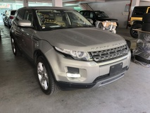 2013 LAND ROVER EVOQUE 2.0 Petrol Turbo Si4 Unreg Meridian 5 Camera No GST