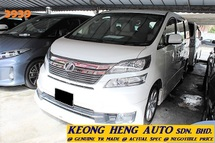 2013 TOYOTA VELLFIRE FACELIFT 3.5 VL MPV (ACTUAL YR MADE 2013)(GST INCLU)(1 OWNER)(REG 2015)(FULL SPEC)(LOW MILE)
