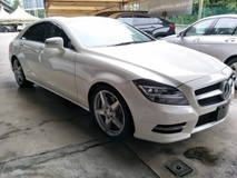 2013 MERCEDES-BENZ CLS-CLASS 3.5 V6 AMG SPORT COMFROM SUSPENSION