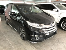 2013 HONDA ODYSSEY Absolute 2.4 Surround Camera Unreg INC GST