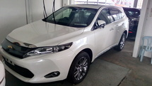 2015 TOYOTA HARRIER 2.0 Surround Camera Power Boot Unregistered 0% GST PRICE