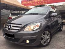 2008 MERCEDES-BENZ B-CLASS MERCEDES BENZ B170 W245 1.7(A)EXECUTIVE EDITION MILEAGE 75k KM FACELIFT