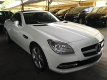 2014 MERCEDES-BENZ SLK 200 1.8 Bluefficiency Sunroof Unregistered GST INCLUDED PRICE