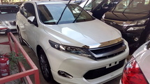 2015 TOYOTA HARRIER 2.0 Power Boot Surround Camera unregistered 0% GST PRICE