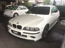 1999 BMW 5 SERIES white