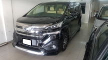 2015 TOYOTA VELLFIRE 3.5 V6 (A) VL MODEL, REG JULY 2016, ONE VVIP OWNER, FULL SPEC, PILOT SEAT, NAPA LEATHER SEAT, MODALISTA KIT, 18