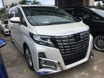 2015 TOYOTA ALPHARD Unreg Toyota Alphard 2.5 S SA Sunroof 7seather 360view GST INCLUDES