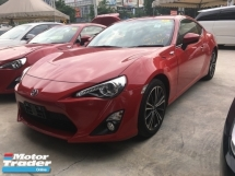 2014 TOYOTA 86 Unreg Toyota GT86 2.0 Paddle shift Camera Sport GST INCLUDES
