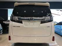2015 TOYOTA VELLFIRE 2015 Toyota Vellfire 3.5 ZA G Edition MPV BLACK INTERIOR LEATHER SEAT 4 CAM 019 3839680 CHONG