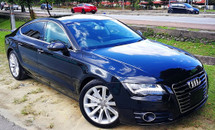 2014 AUDI A7 3.0 V6 TFSI QUATTRO SPORT BACK FACELIFT JAPAN SPEC UNREG