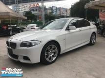 2016 BMW 5 SERIES Unreg BMW 520i 2.0 Turbo M Sport Bodykit Camera 8Speed