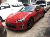 2013 TOYOTA 86 2.0 SEMI AUTO 200HP