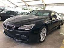 2015 BMW 6 SERIES 640L 3.0 M Sport UK Premium Car