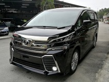 2015 TOYOTA VELLFIRE 2.5  Z  NEW MODEL  UNREG
