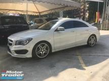 2014 MERCEDES-BENZ CLA Unreg Mercedes Benz CLA250 2.0 AMG Sport Turbo 7G Paddle Shift