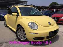 2011 VOLKSWAGEN BEETLE 1.6 (A) ORIGINAL CONDITION