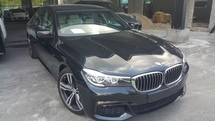 2016 BMW 7 SERIES 2016 BMW 740Li 3.0 M Sport Sedan UNREG SHOWROOM CONDITION 019 3839680 CHONG