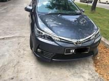 2016 TOYOTA ALTIS 1.8 G with full aero kit and accessories