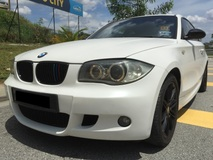 2007 BMW 1 SERIES 2.0 (A) M SPORT 2 DOOR LIMITED