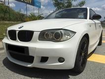 2007 BMW 1 SERIES 2.0 (A) M SPORT 2 DOOR LIMITED