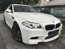 2014 BMW M5 4.4 TURBO FULL SPEC UK UNREG