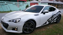 2013 SUBARU BRZ 2013 SUBARU BRZ 2.0 H4 JAPAN FULL SPEC UNREG  SELLING PRICE WITH GST ( RM 128000.00 NEGO )